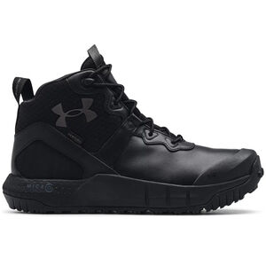 Under Armour Men's Micro G Valsetz Mid Leather Waterproof Tactical Boots