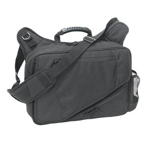 Voodoo Tactical Messenger Bag Velcro Holster 16.25L Capacity Cordura Black