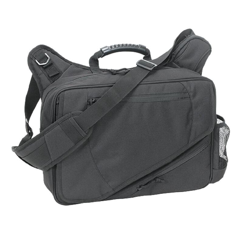 Voodoo Tactical Messenger Bag Velcro Holster 16.25L Capacity Cordura Coyote