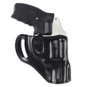 Galco Hornet Appendix Holster for Glock 19 Right Hand Leather Black