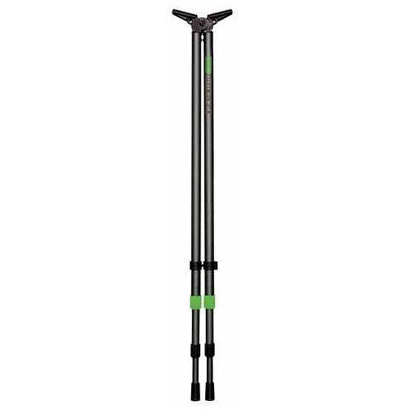 "Primos Polecat Bi-Pod Tall Adjustable 25""-62"" Aluminum Black 65483"