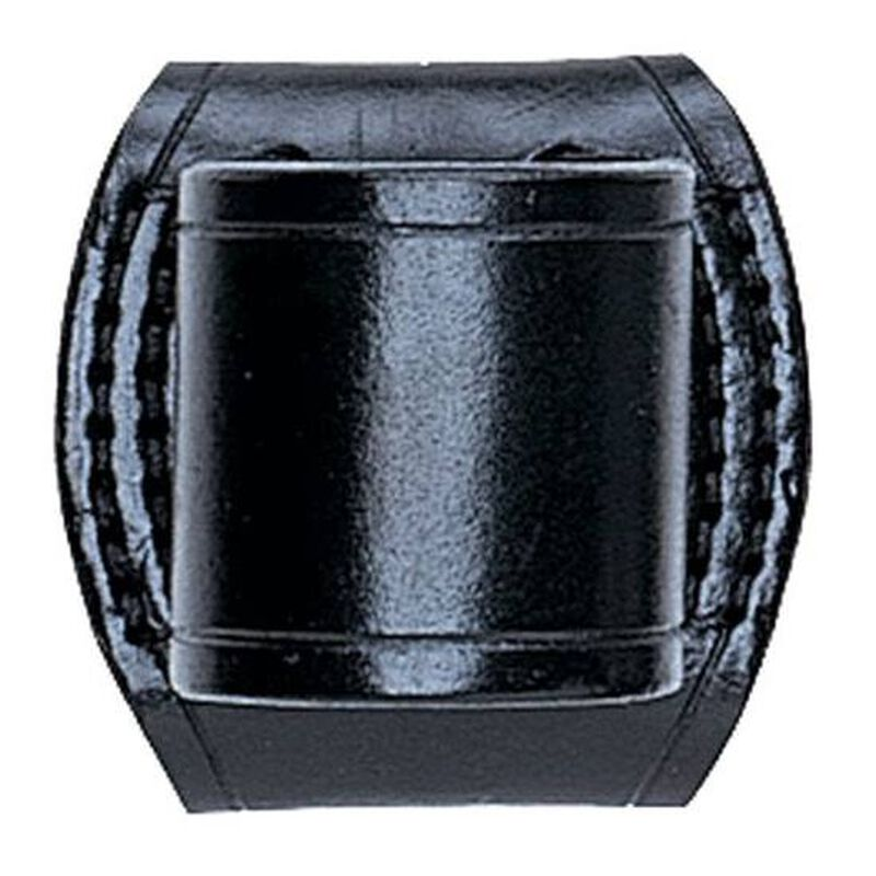 Aker Leather High Ride PolyStinger Flashlight Holder Leather Plain Black