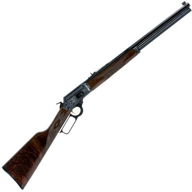 """Marlin Model 1894 Limited Edition Lever Action Rifle 45 LC 20"""" Barrel 10 Rounds  Engraved Receiver Walnut Stock Blued"""