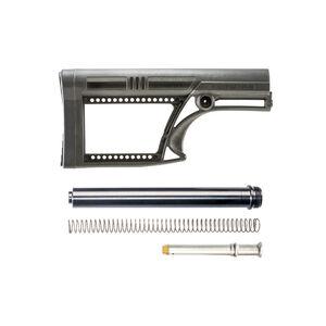 Luth-AR AR-15 MBA-2 Skullaton Stock Assembly A2 Tube .223 Rifle Buffer And Spring Black MBA-2K