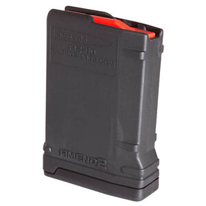 Amend2 Mod-2 AR-15 10 Round Magazine .223 Remington/5.56 NATO Anti-tilt Super Follower Stainless Steel Spring Polymer Matte Black