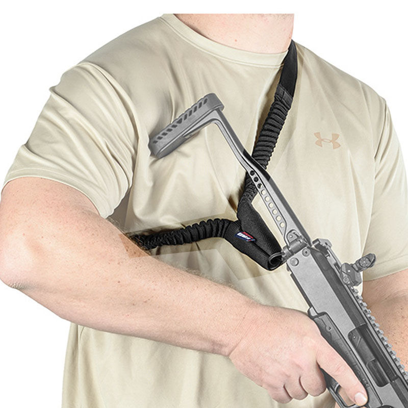 FAB Defense One Point Tactical Sling Bungee Black