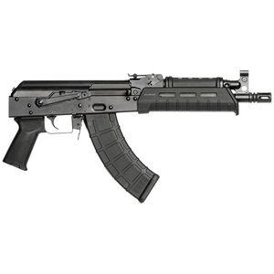 "Century RAS47 AK Semi Auto Pistol 7.62x39 10.6"" Barrel 30 Rounds Black"