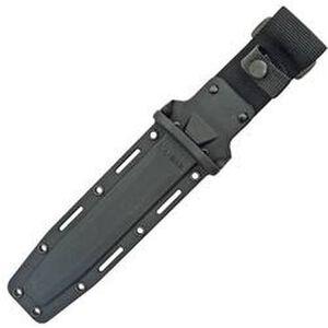 "Ka-Bar Sheath Full Size 7"" Blades Glass Filled Nylon Black Logo Belt Loop 1216"