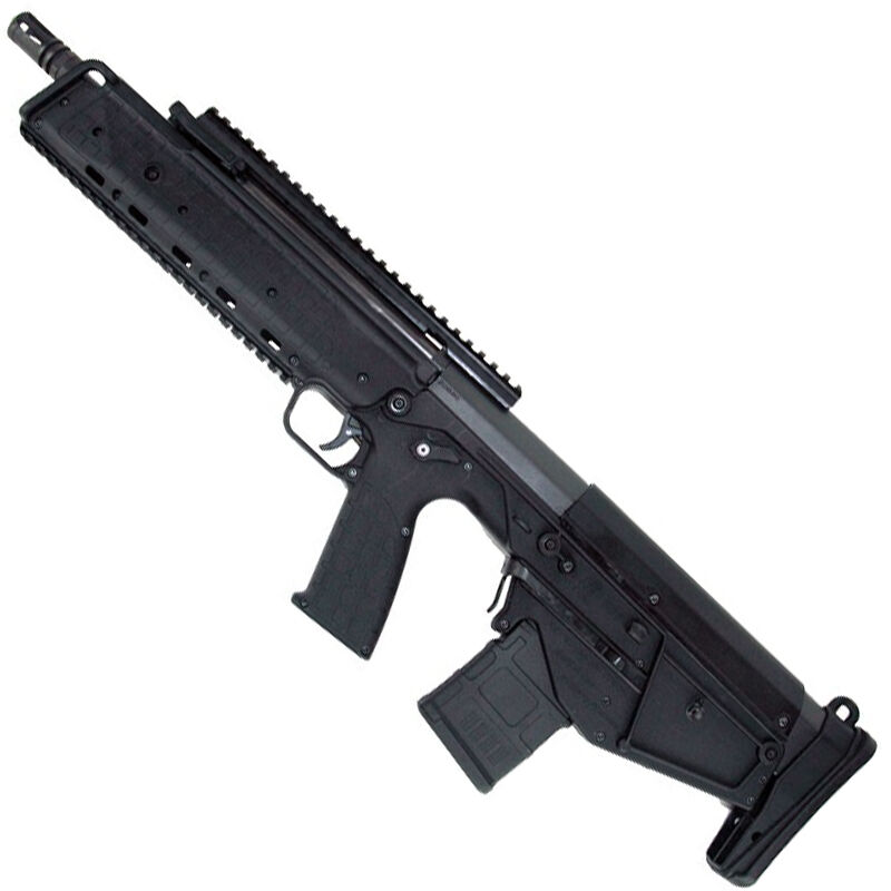 "Kel-Tec RDB Semi Auto Bullpup Rifle 5.56 NATO 17.3"" Barrel 20 Round AR-15 Compatible Magazine Ambidextrous Controls Downward Ejection Synthetic Stock Black Finish"