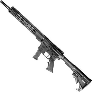 "Windham Weaponry 9mm Carbine Semi Auto Rifle 9mm Luger 16"" Barrel 17 Rounds 13"" Free Float Handguard Collapsible Stock Black"