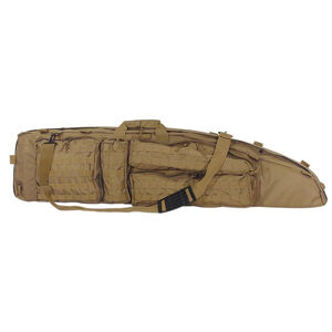 """Voodoo Tactical Ultimate Drag Bag 53"""" Overall Length Rugged Pack Cloth Construction Coyote Tan"""