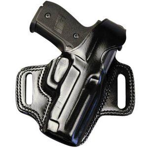 Galco FLETCH High Ride SIG Sauer P220, P226 Belt Holster Right Hand Leather Black FL248B