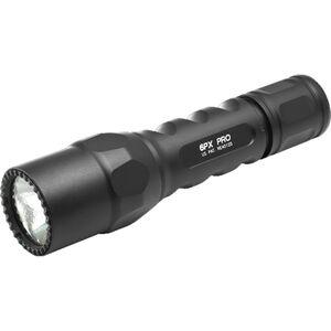 SureFire 6PX Pro Flashlight 600 Lumens CR123A Batteries Aluminum Black