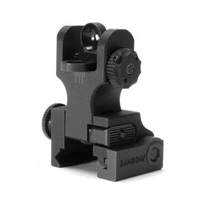 Samson AR-15 Quick Flip Rear Sight Dual Aperture Black QF-FRS-A2