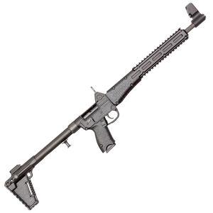 "Kel-Tec SUB-2000 G2 9mm Luger Semi Auto Rifle 16.25"" Barrel 17 Rounds M-LOK Compatible Uses GLOCK 17 Magazines Adjustable Stock Black"