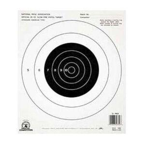 Champion NRA B16 Target 25 Yard Pistol Slowfire 100 Pack