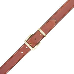 Aker Leather Concealed Carry Gun Belt Leather 38 Inch Tan