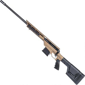"""Savage 110 BA Stealth Evolution Left Handed Bolt Action Rifle .338 Lapua 24"""" Threaded Barrel 5 Rounds Bronze Aluminum Chassis Magpul PRS Stock Black Finish"""