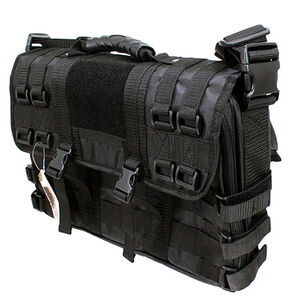 Galati Gear Attache Case with Removable Logo and Hidden Backpack Straps Black