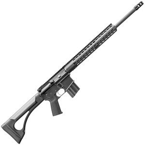 "Bushmaster Hunting SD Carbine AR-15 Semi Auto Rifle .450 BM 20"" Barrel 5 Rounds Square Drop Aluminum Handguard Fixed Stock Black"