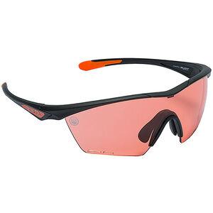 Beretta Clash Shooting Glasses Black Frame Scarlet Lenses