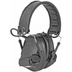 3M/Peltor ComTac V Electronic Earmuff with Rubberized Headband Foldable Black