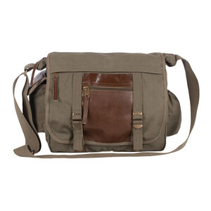 Fox Outdoor Deluxe Concealed Carry Messenger Bag OD Green 43-20