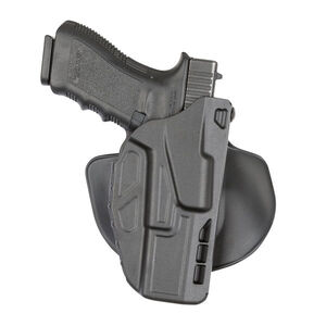 Safariland Model 7368 7TS ALS Paddle Holster Right Hand Fits SIG P320 Compact/Carry SafariSeven Plain Black