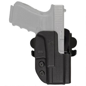 Comp-Tac International Holster S&W M&P  Shield 9/40/45 Full Size OWB Right Handed Kydex Black