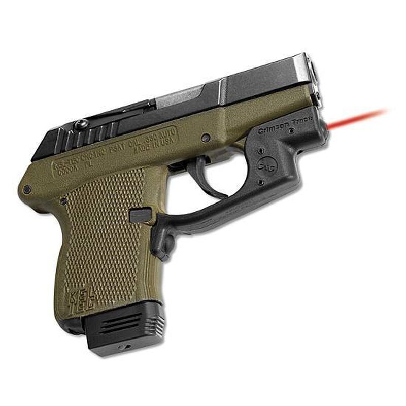 Crimson Trace Defender Keltec P32/P3AT Laserguard Compact Front Activated  Black LG-430