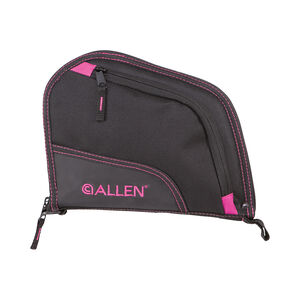 "Allen Auto-Fit Handgun Case 9"" Black/Orchid"