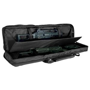 """Voodoo Tactical MOLLE Soft Rifle Case Nylon Padded 46"""" Black 15-761401000"""