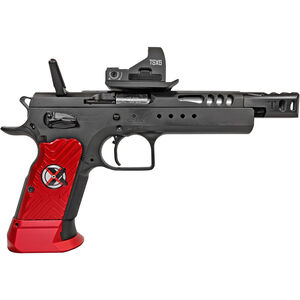 "EAA Witness Domina Xtreme 9mm Luger Semi Auto Pistol 5.25"" Barrel 17 Rounds Hand Tuned Race Gun with Optic Steel Frame Aluminum Grips Two Tone Finish"