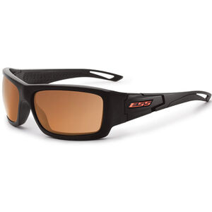 Eye Safety Systems Credence Ballistic Sunglasses Black Frame Mirrored Copper Lens Black EE9015-06