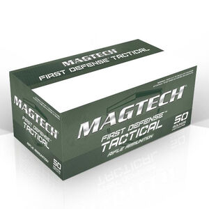 Magtech First Defense .300 AAC Blackout Subsonic Ammunition 50 Rounds 200 Grain Full Metal Jacket Subsonic 1050fps