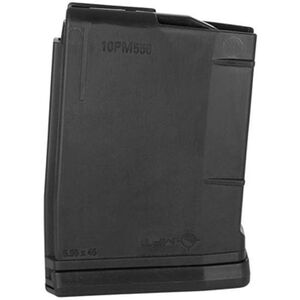 Mission First Tactical ,AR-15 Magazine 10 Rounds, 5.56 NATO, Polymer, Black