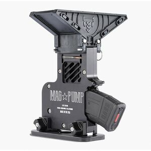 MagPump AK-47 Elite Magazine Loader 7.62x39 90 Round Hopper Feed CNC Machined Billet Aluminum Housing Matte Black