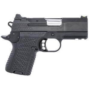 "Wilson Combat SFX9 HC 9mm Sub Compact Semi Auto Pistol 3.25"" Barrel 10 Rounds Synthetic Grips Matte Black Finish"