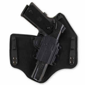 Galco King Tuk GLOCK 43, Springfield XDS Inside Waistband Holster Right Hand Kydex/Leather Black KT662B