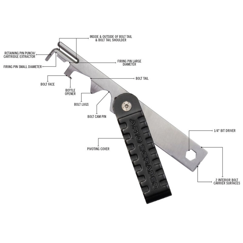 Real Avid Ar10 Scraper BCG Surface Carbon Removal Tool AVAR10S for sale online