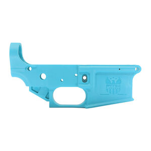 FMK AR1 eXtreme AR-15 Stripped Lower Receiver Multi-Caliber Mil-Spec High Impact Proprietary Composite Polymer Blue Jay