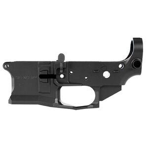 SilencerCo SCO15 AR-15 Stripped Lower Receiver Integrated Trigger Guard Billet 7075-T6 Aluminum Hard Coat Anodized Matte Black Finish