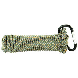 Ultimate Survival Technologies Paracord 30' 550lb Test 100% Nylon Green/Silver Camouflage Finish