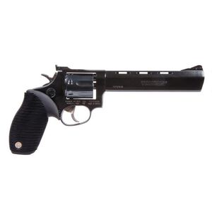 "Taurus Tracker 17 Double Action Revolver .17 HMR 6.5"" Barrel 7 Rounds Fixed Front Sight/Adjustable Rear Sight Ribber Grip Matte Black Finish"