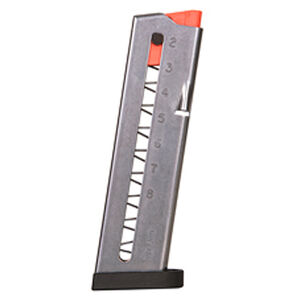 Smith & Wesson M&P 380 Shield EZ 8 Round Magazine .380 ACP Polymer Base Plate Stainless Steel Natural Finish