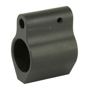 Spike's Tactical AR-15 .625 Diameter ST Micro Gas Block Solid Billet Steel Black Nitride Coating Matte Black Finish
