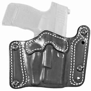 DeSantis Variable GRD Belt Slide Holster fits SIG P320C/P250C Ambidextrous Leather Black