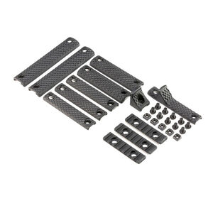 Knights Armament Company Upper Receiver Extension III 3.1 Deluxe Rail Panel Kit Polymer Black 30409-BLK