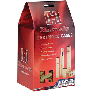 Hornady 218 Bee Unprimed Brass Cartridge Cases 50 Pack