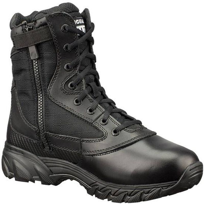 """Original S.W.A.T. Chase 9"""" Tactical Side Zip Boot Nylon/Leather Size 10 Regular Black 1312-BLK-10"""